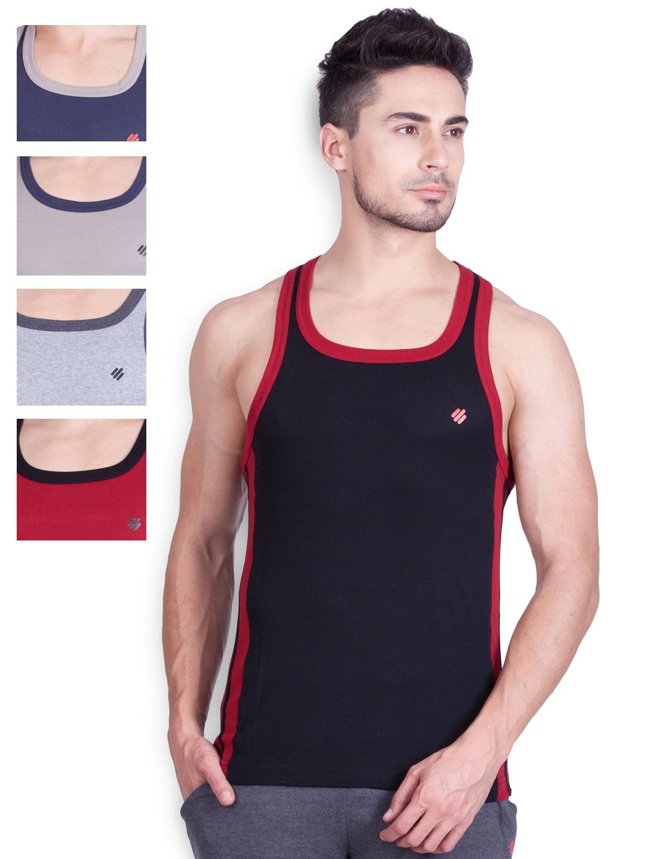 ONN Pack of 5 Innerwear Vests ONN_SPORTZ_AST_NS524 image