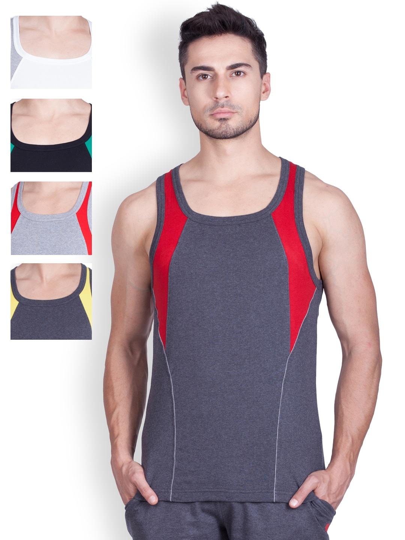 ONN Pack of 5 Innerwear Vests ONN_SPORTZ_AST_NS532 image