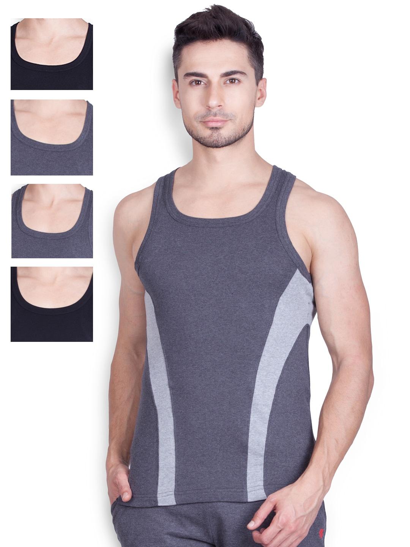 ONN Pack of 5 Innerwear Vests ONN_SPORTZ_AST_NS533 image