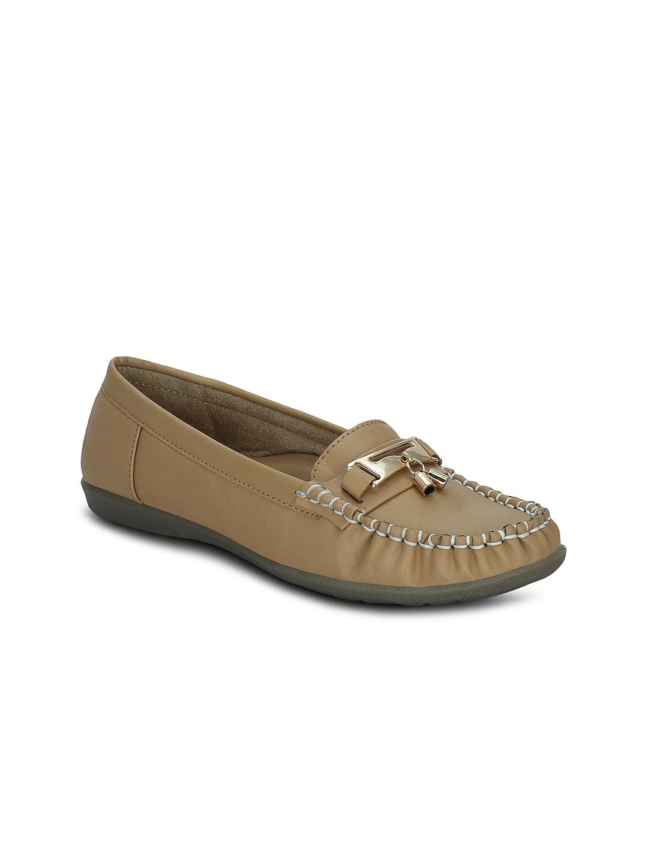 Kielz Women Beige Loafers image