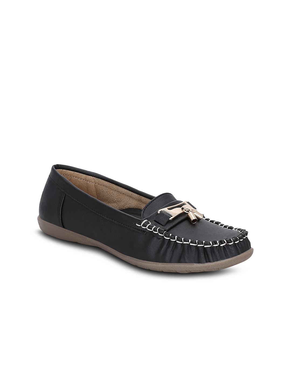 Kielz Women Black Loafers image