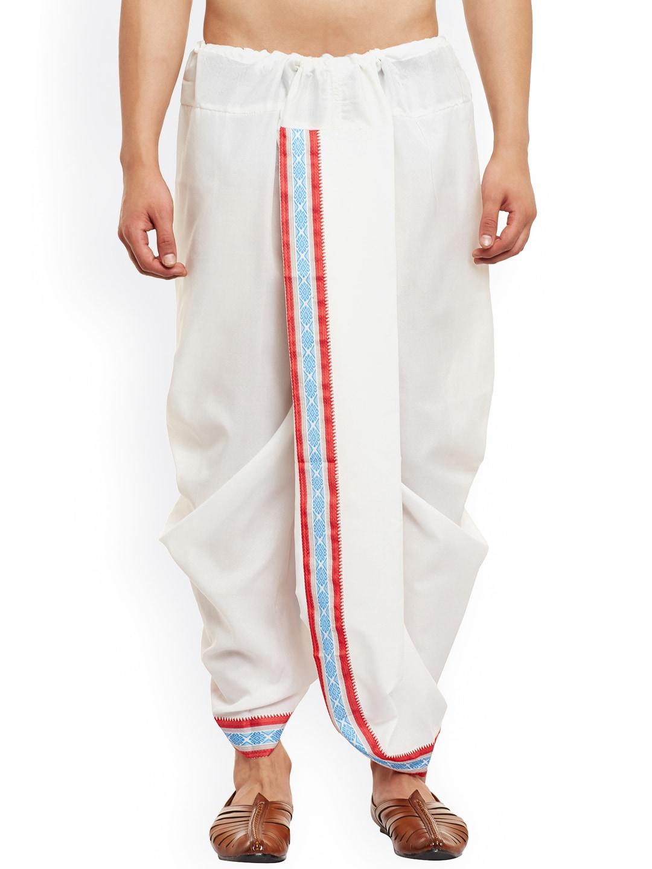 SOJANYA White Dhoti Pants image