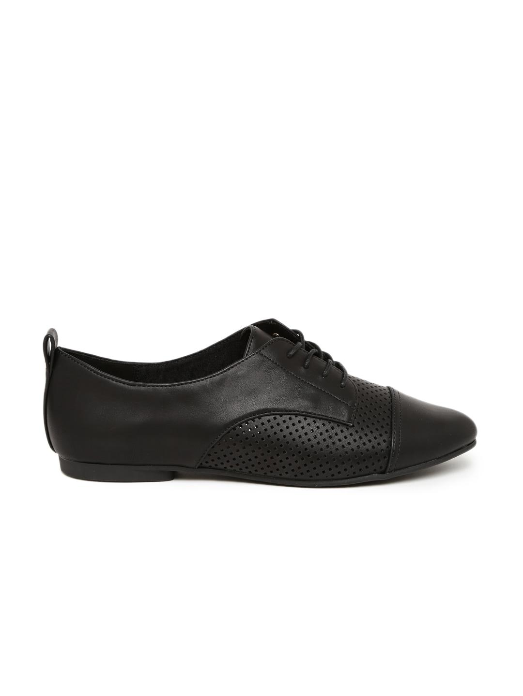 ALDO Women Black Solid Formal Shoes image