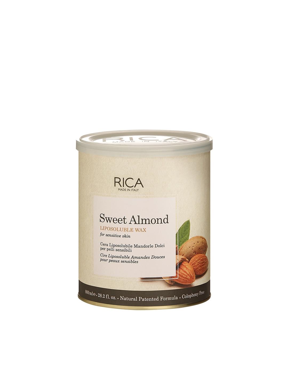 RICA Unisex Sweet Almond Liposoluble Wax image