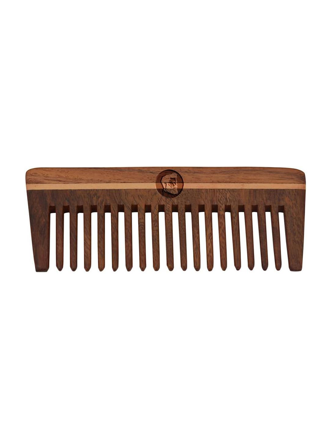 BEARDO Men Brown Shisham Wooden Comb image