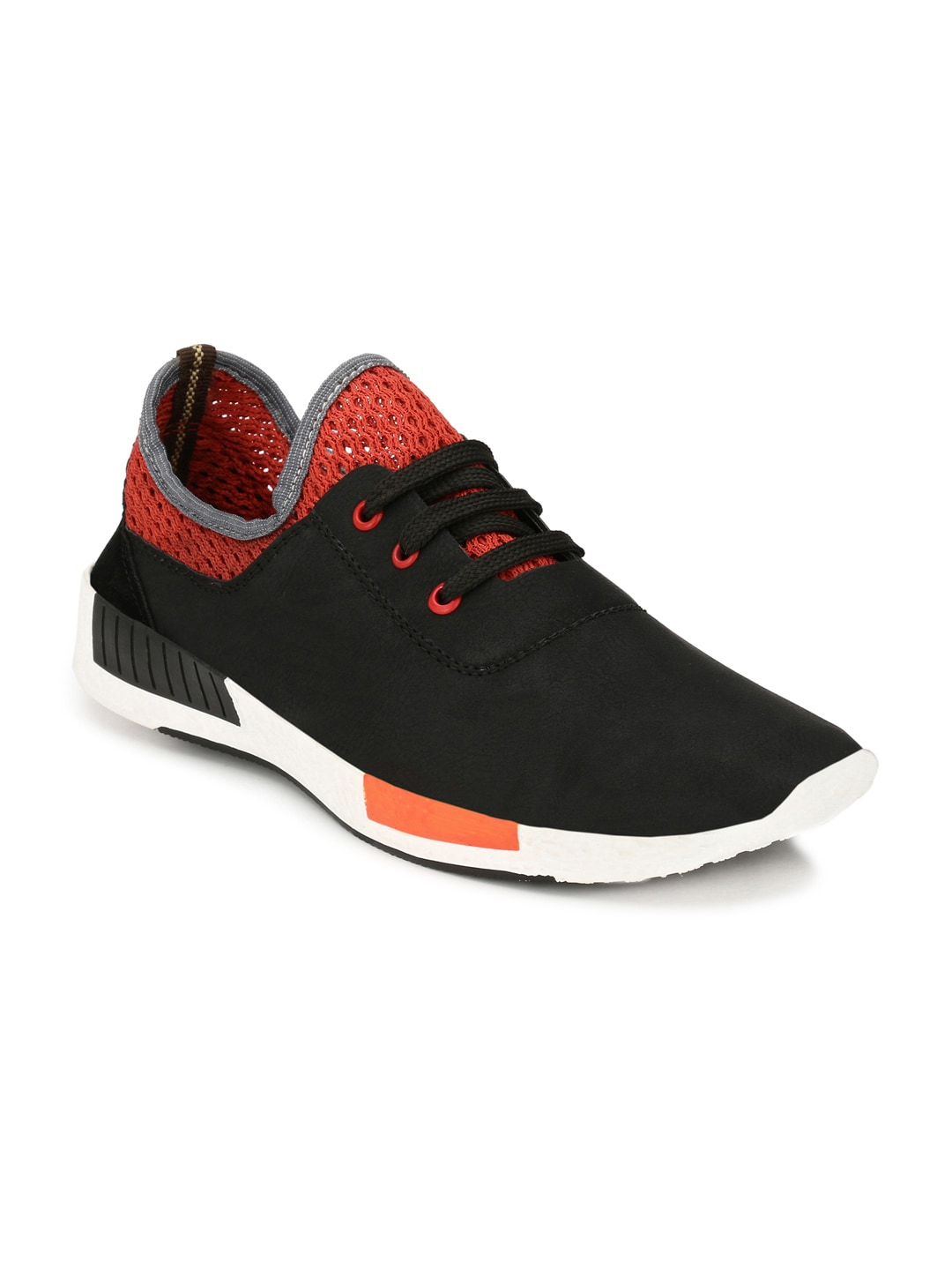 Mactree Men Black Sneakers image