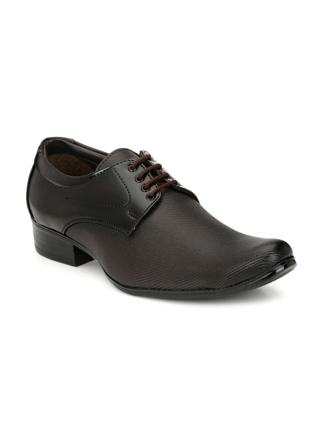 Sir Corbett Men Brown Formal Shoes image