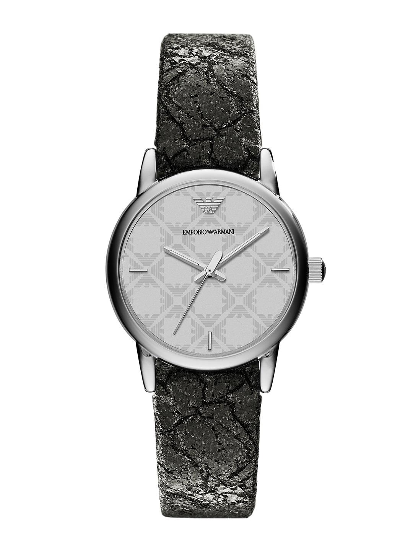 Emporio Armani Women Silver-Toned Analogue Watch AR1814 image