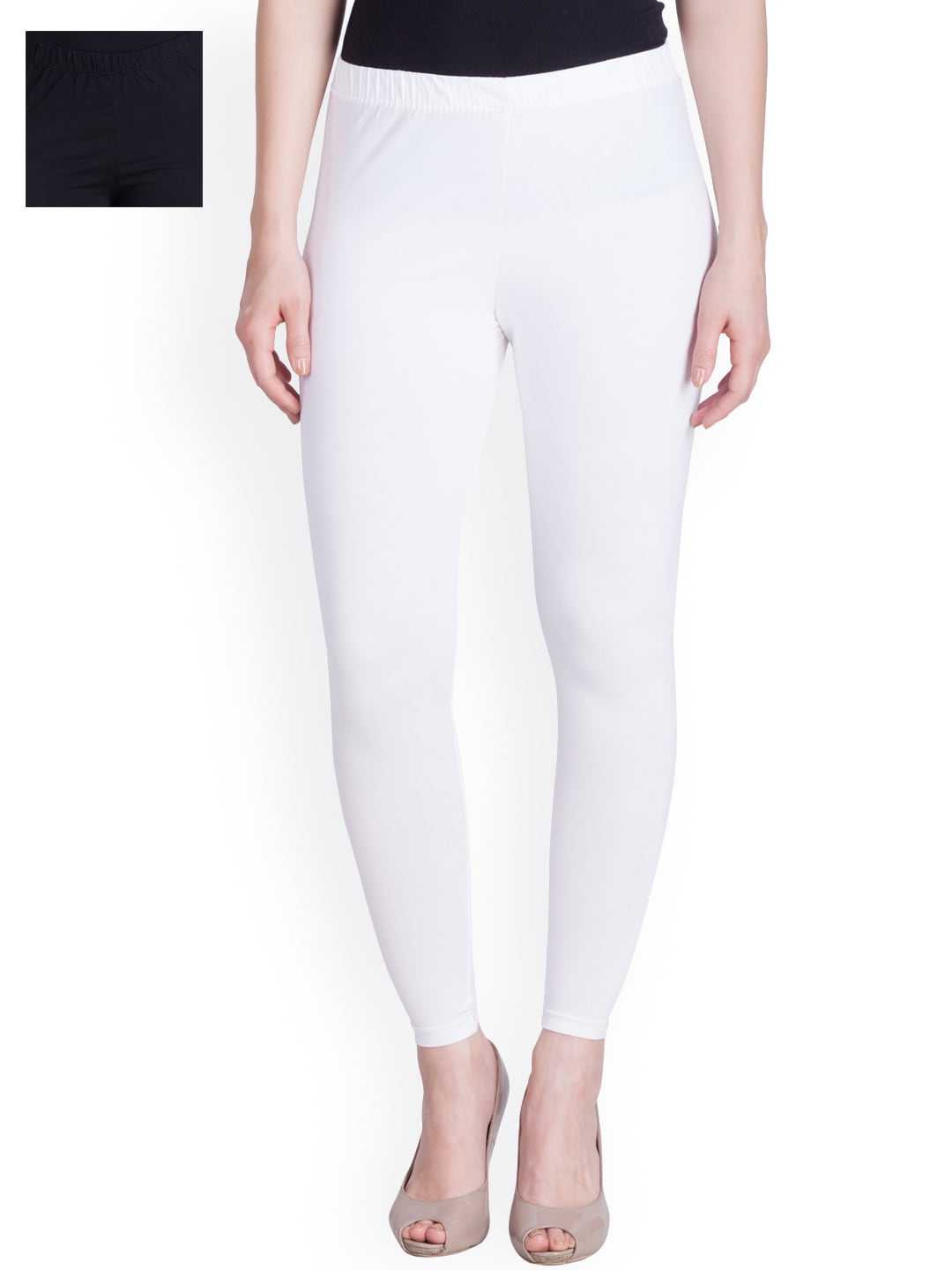 Get 10% off on Lux Lyra Pack of 2 Ankle Length Leggings