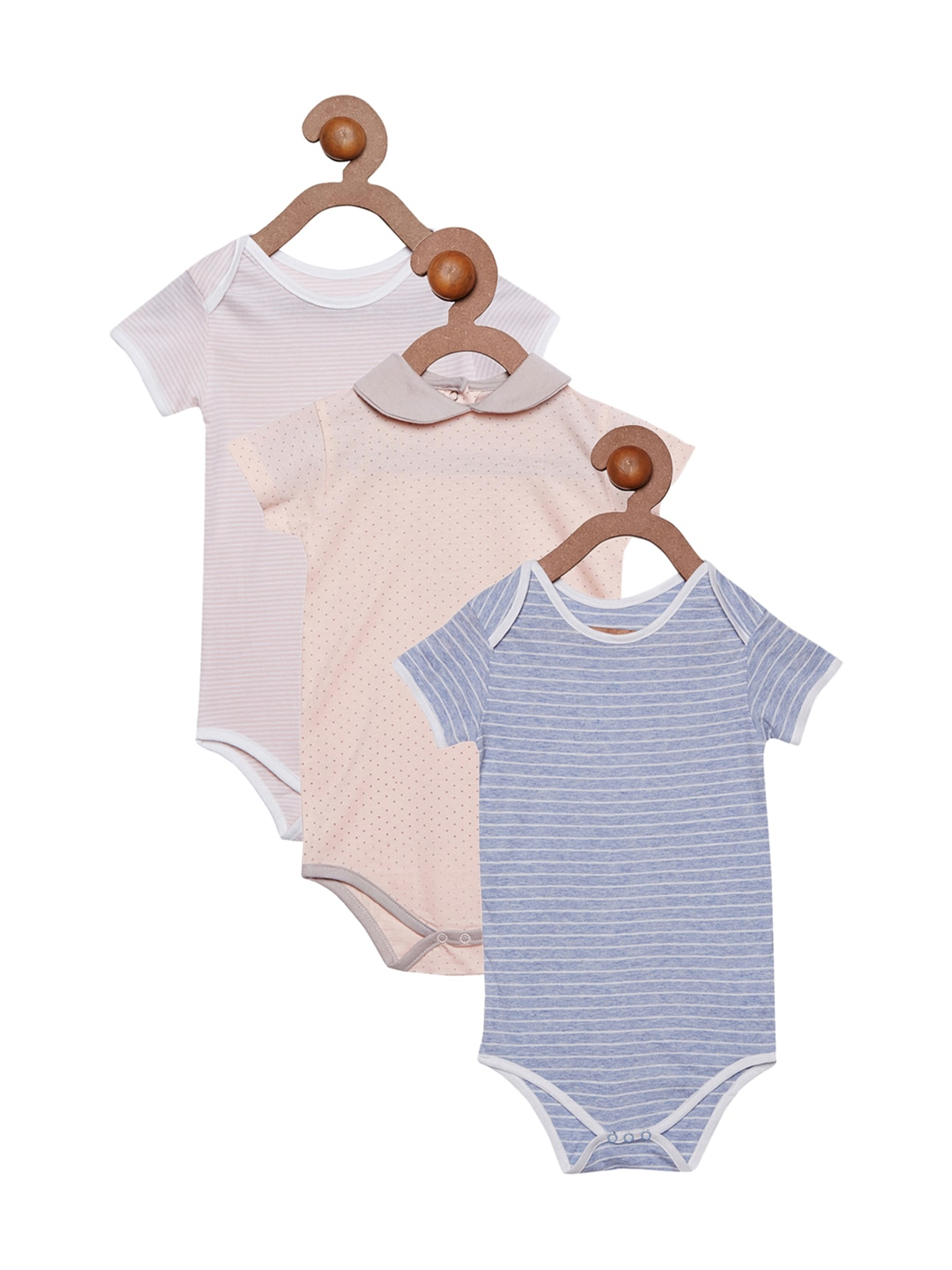 berrytree Kids Pack of 3 Bodysuits image