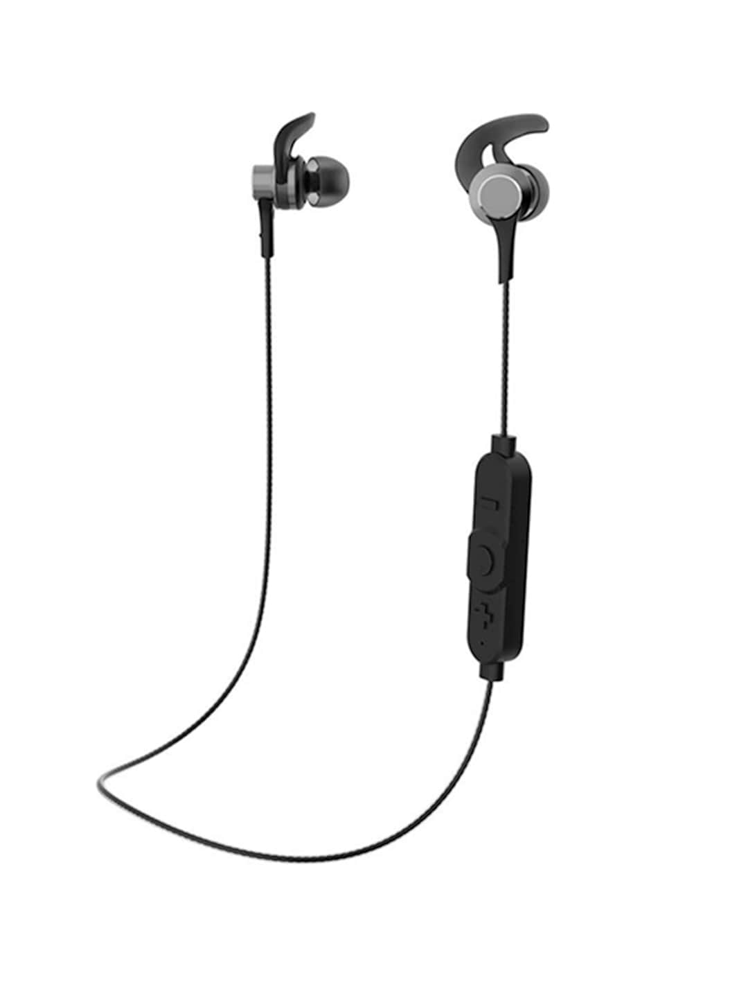 BUy Flipkart SmartBuy Black Wireless Bluetooth In-Ear Earphones With Mic At Best Price