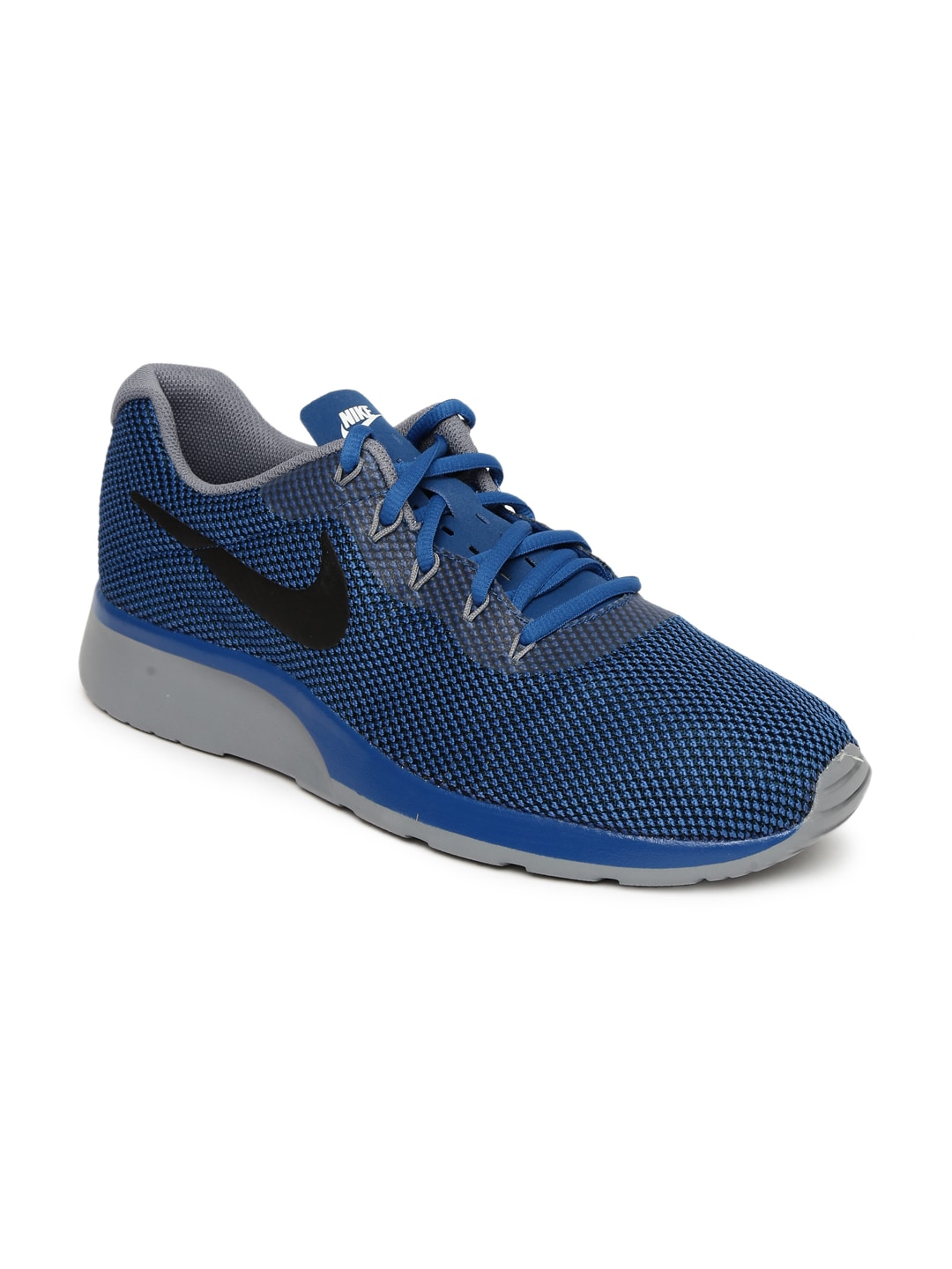 Nike Men Navy Blue TANJUN RACER Sneakers image