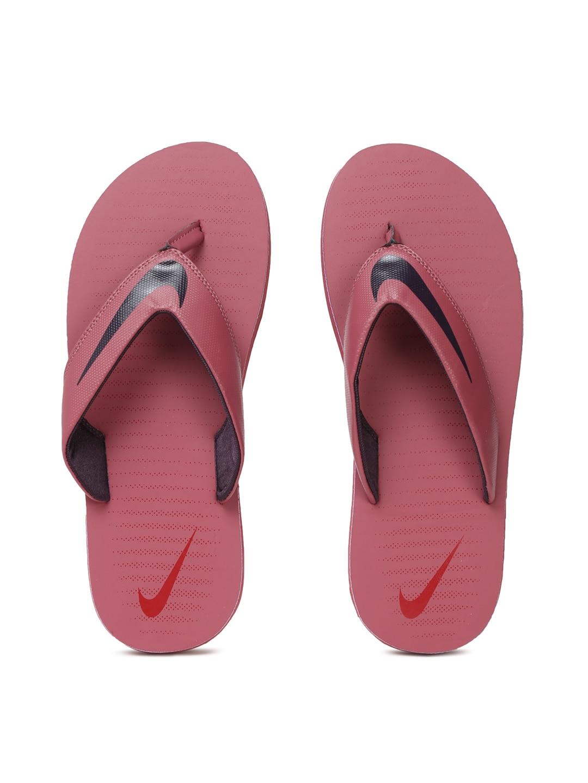 Nike Men Pink CHROMA THONG 5 Flip-Flops image