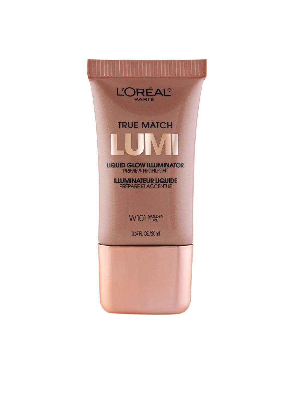 LOreal Paris Golden Dore True Match Lumi Liquid Warm Illuminator Prime & Highlighter W101 image