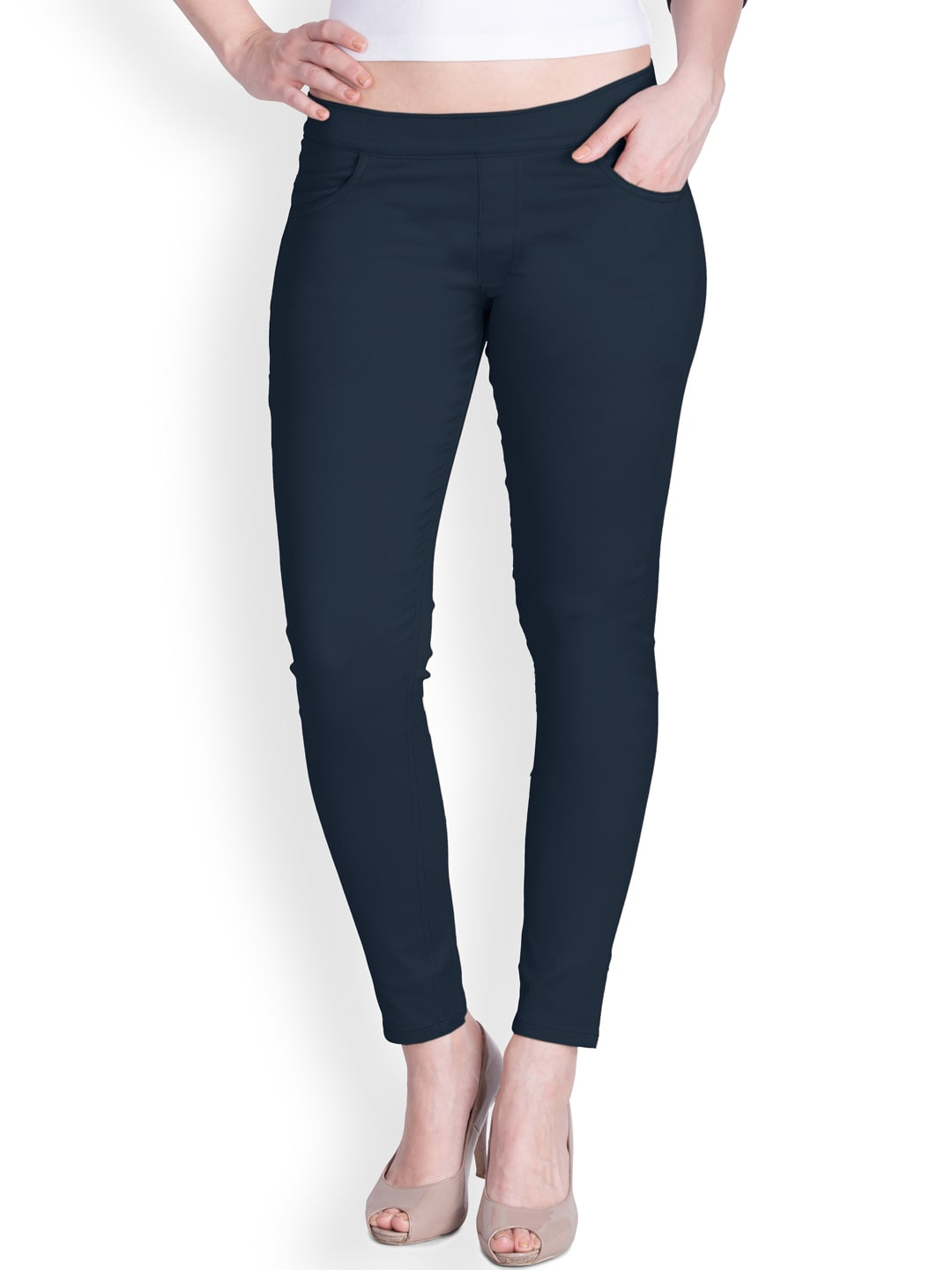 Lux Lyra Blue Jeggings image