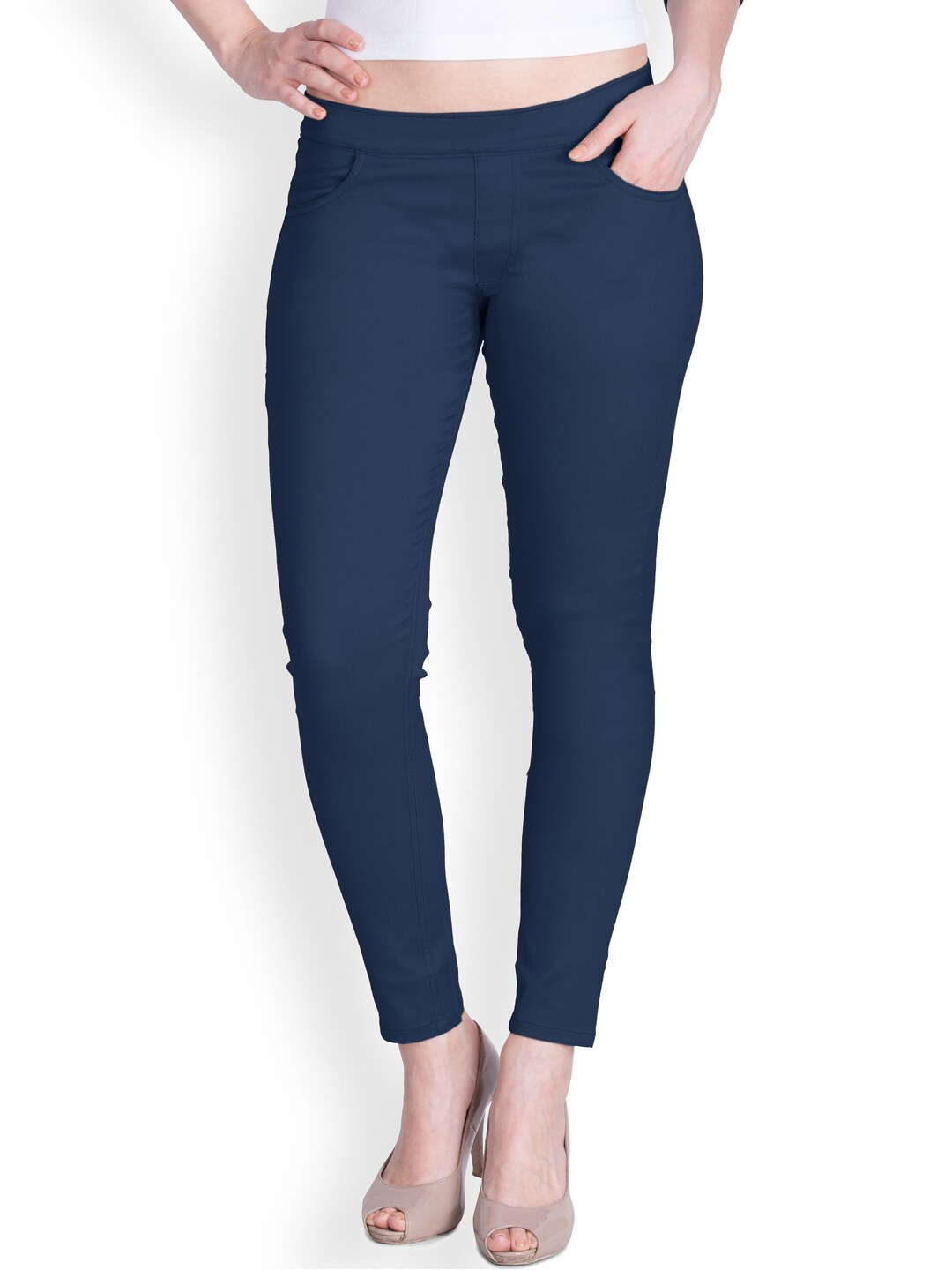 Lux Lyra Navy Blue Jeggings image