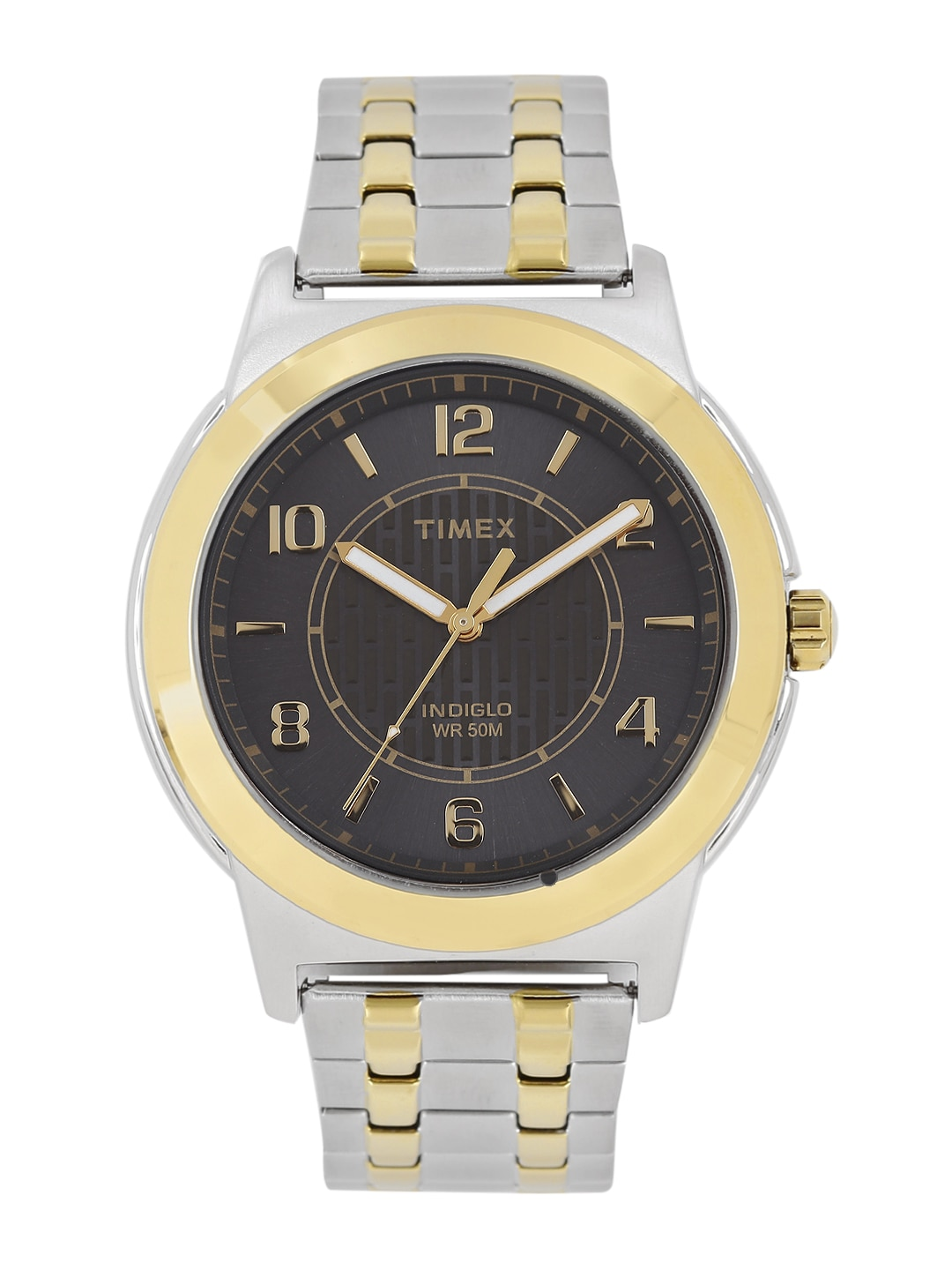 Timex Men Charcoal Grey Analogue Watch TW2P61900 image