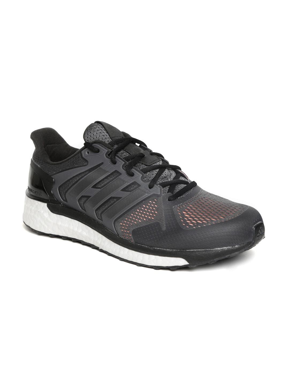 Adidas Men Charcoal Grey SUPERNOVA ST Running Shoes image