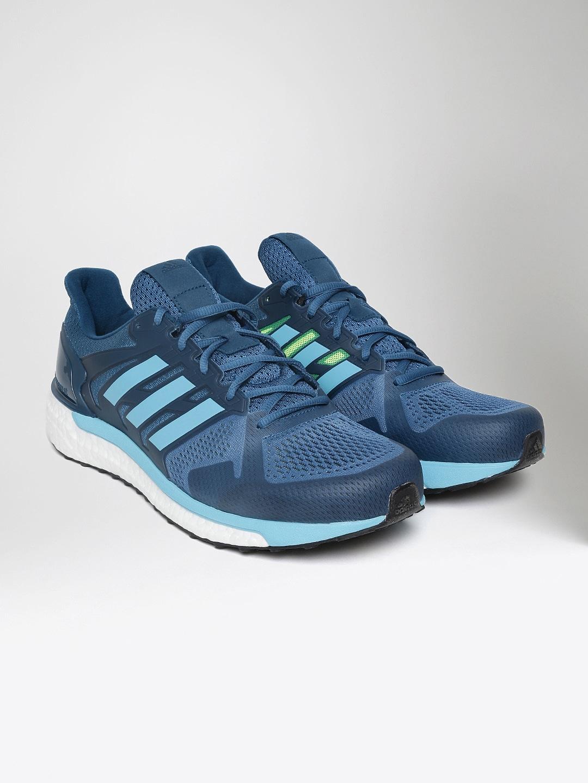 Adidas Men Teal Blue Supernova ST Running Shoes image