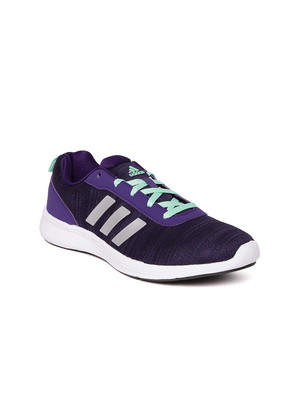 Adidas Women Purple ADIRAY 1.0 Running Shoes image