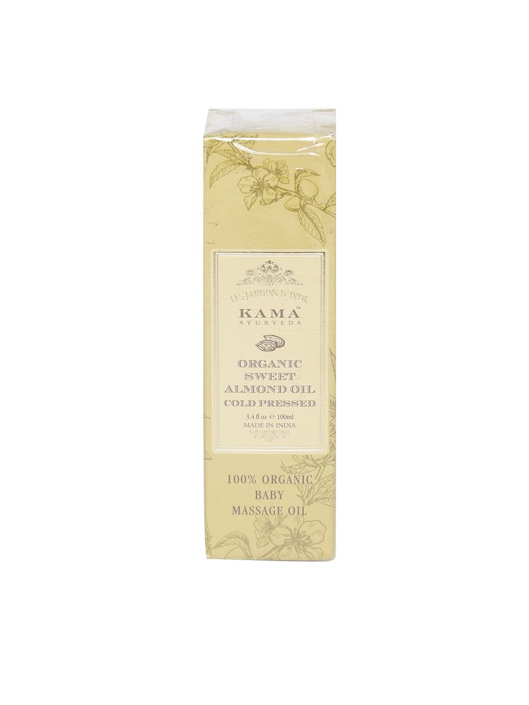 KAMA AYURVEDA Unisex Cold Pressed Organic Sweet Almond Oil 100 ml image