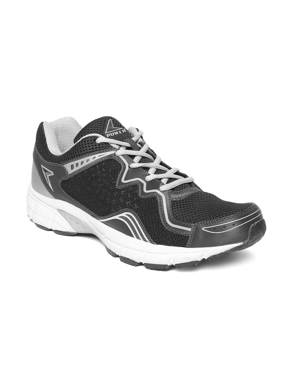 Power Men Charcoal Grey Training Shoes image