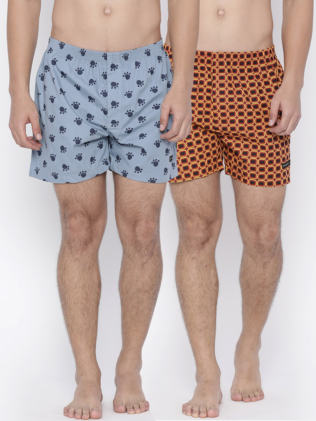 Chromozome Pack of 2 Printed Boxers IT15 image