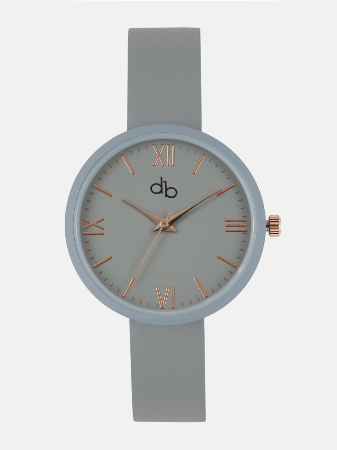 DressBerry Women Grey Analogue Watch MFB-PN-SNT-B01 image