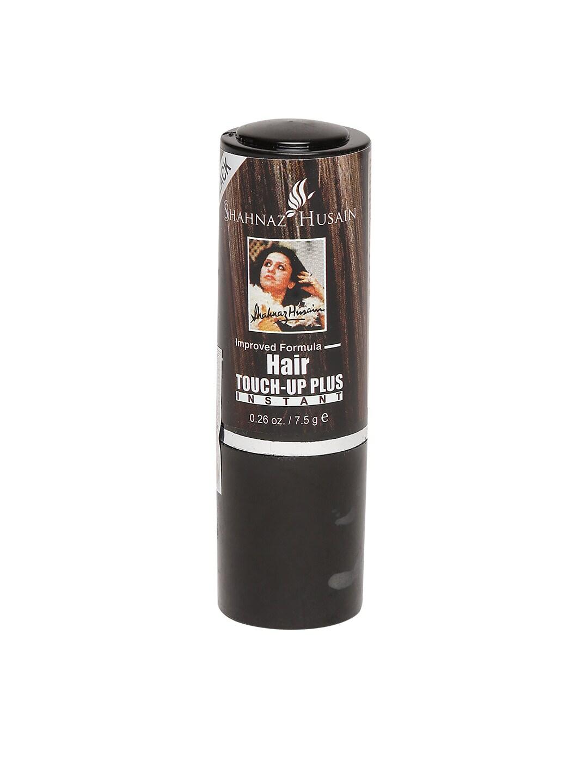 Shahnaz Husain Unisex Black Instant Hair Touch-Up Plus 7.5 g image
