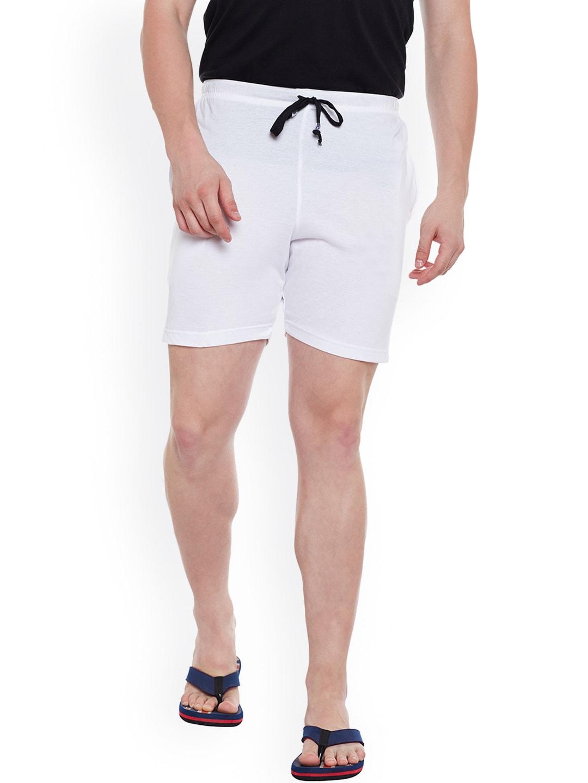 VIMAL White Lounge Shorts D11 image