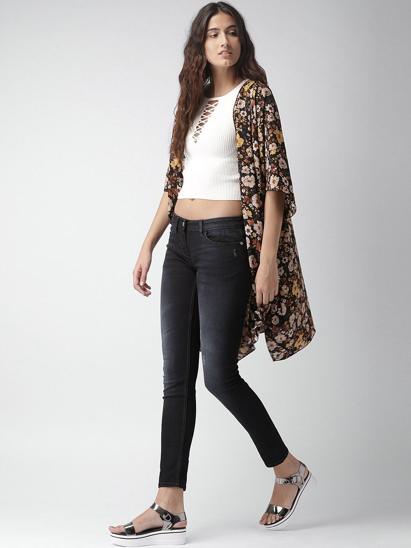 Mast & Harbour Blue Skinny Fit Women Jeans