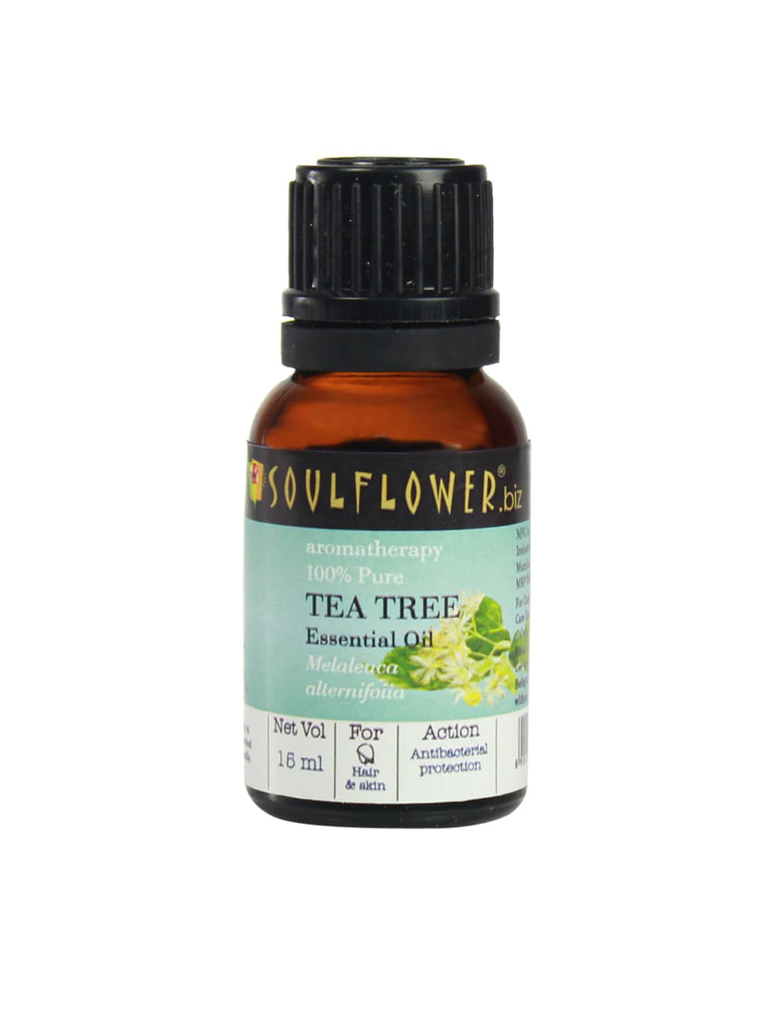 Soulflower Unisex Tea Tree Essential Oil image