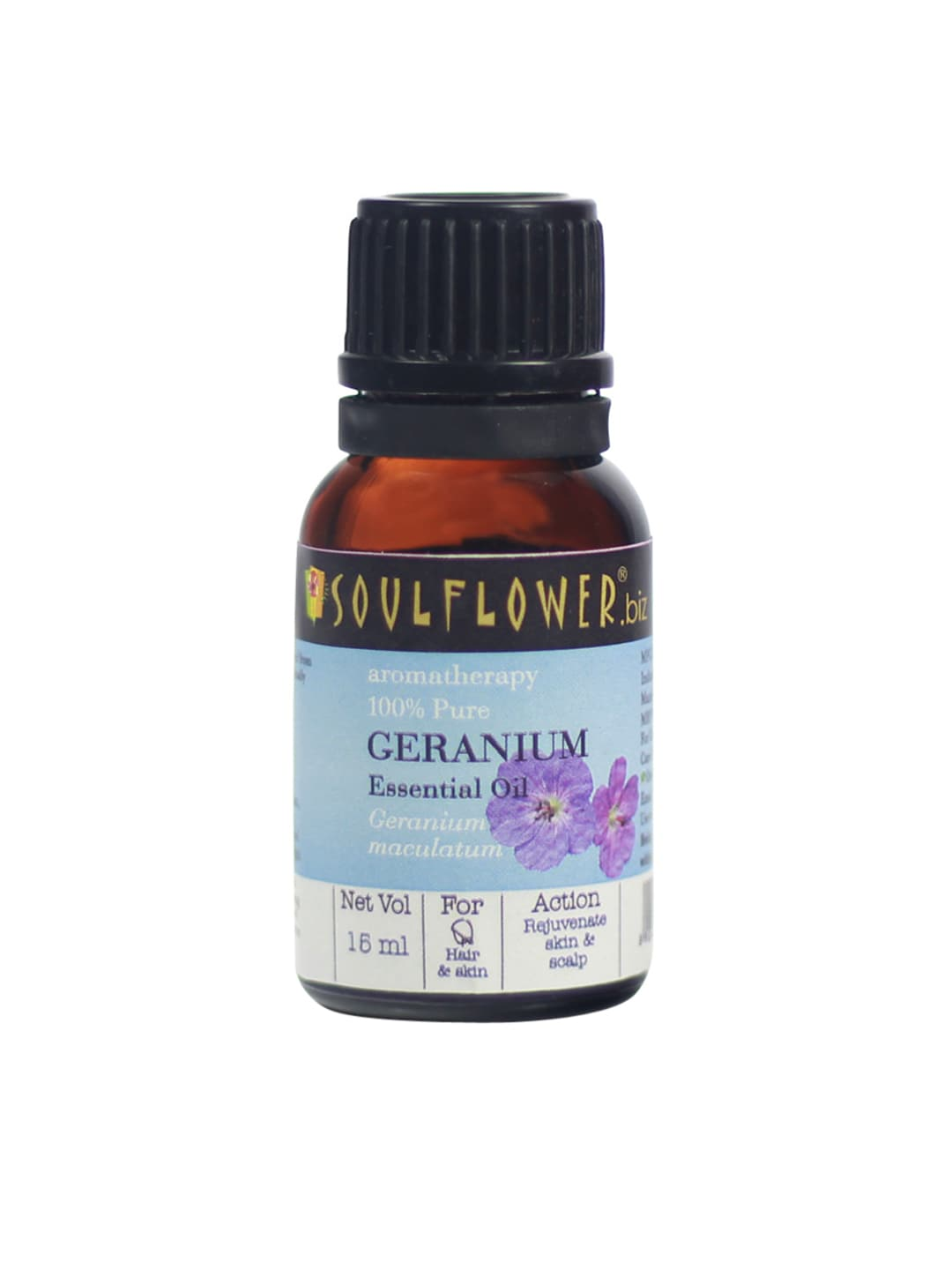 Soulflower Unisex Geranium Essential Oil image