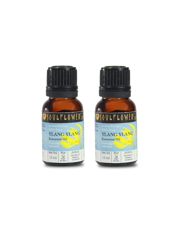 Soulflower Set of 2 Ylang Ylang Essential Oils 15 ml image