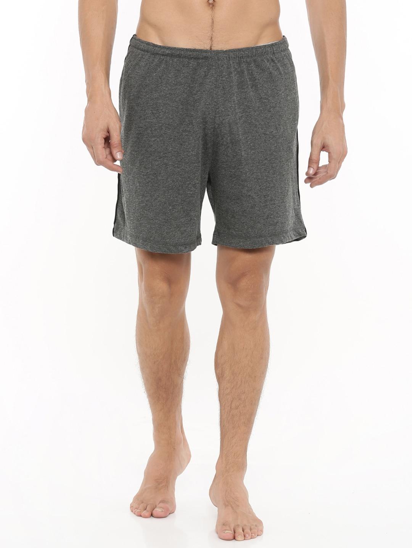 Gmcks Charcoal Grey Lounge Shorts 7758 image