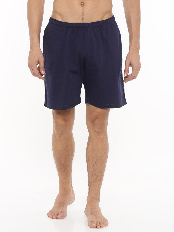 Gmcks Navy Blue Lounge Shorts 7759 image