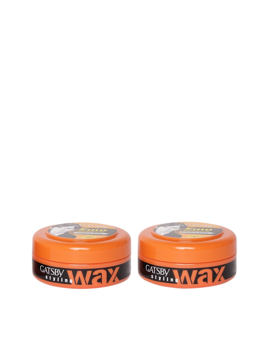 Gatsby Men Set of 2 Emo Asymmetric Tough & Shine Hair Styling Wax 150 g image