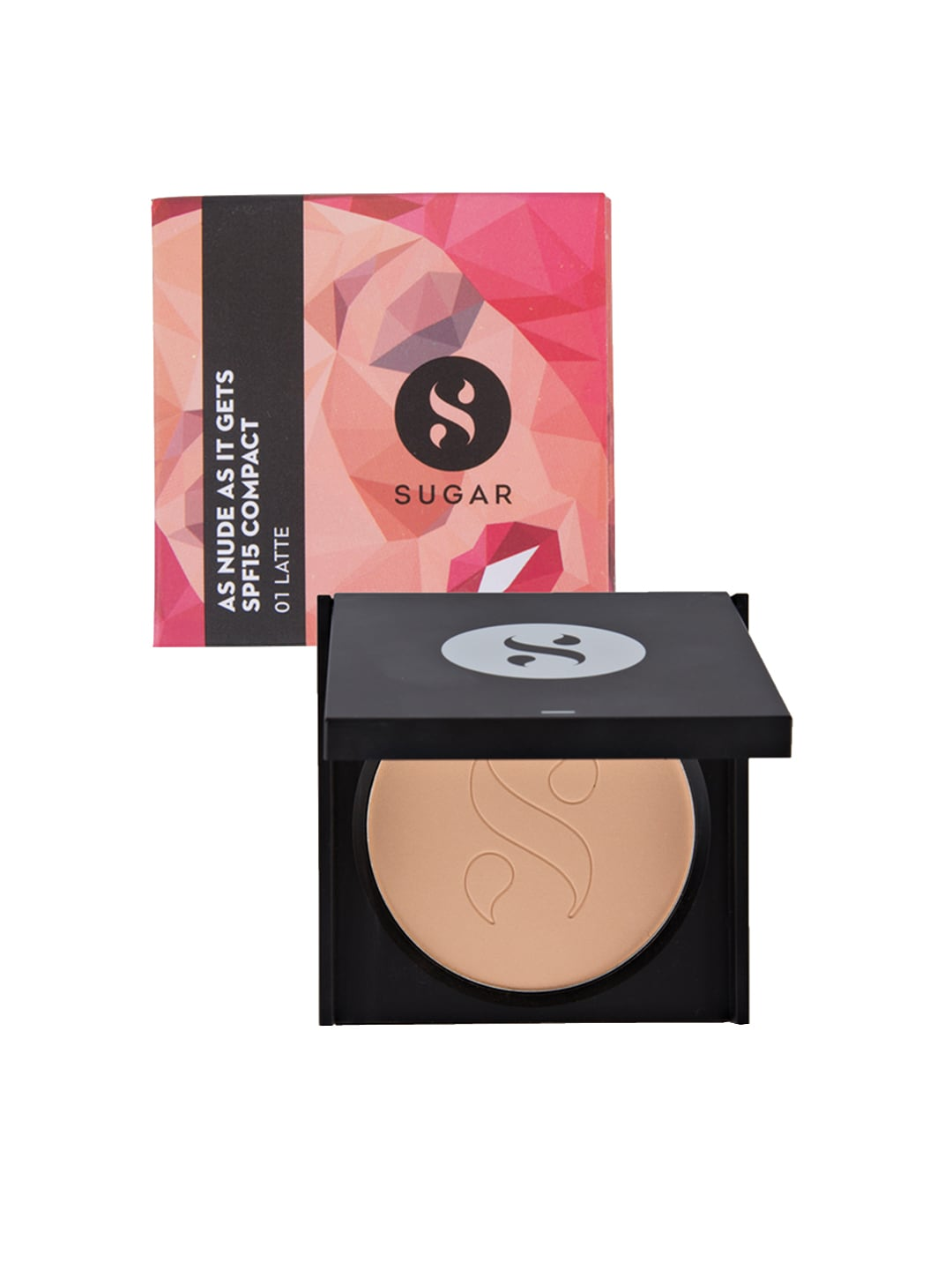 SUGAR As Nude As It Gets SPF 15 Latte Compact 01 (Light) image