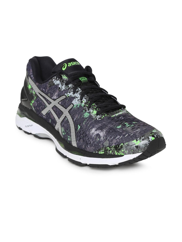 ASICS Men Grey GEL-KAYANO 23 Running Shoes image