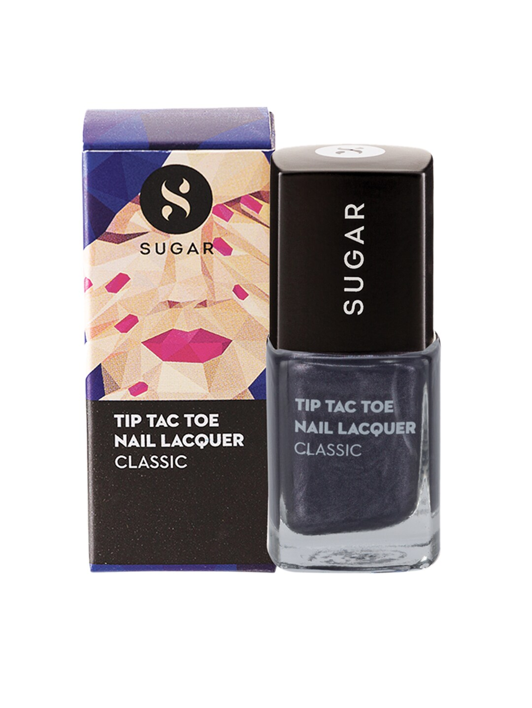 SUGAR Tip Tac Toe Classic Nail Lacquer - 002 Goodness Gray-Cious image