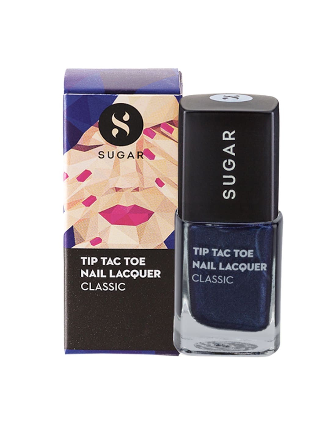 SUGAR Tip Tac Toe Classic Nail Lacquer - 005 Blue-Blooded image