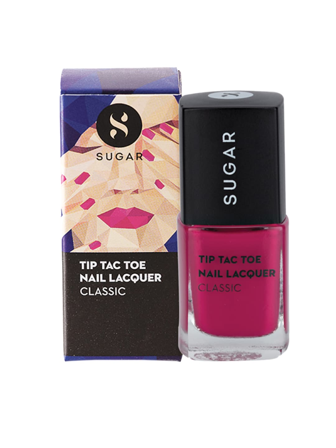 SUGAR Tip Tac Toe Classic Nail Lacquer - 012 Pink Positive image