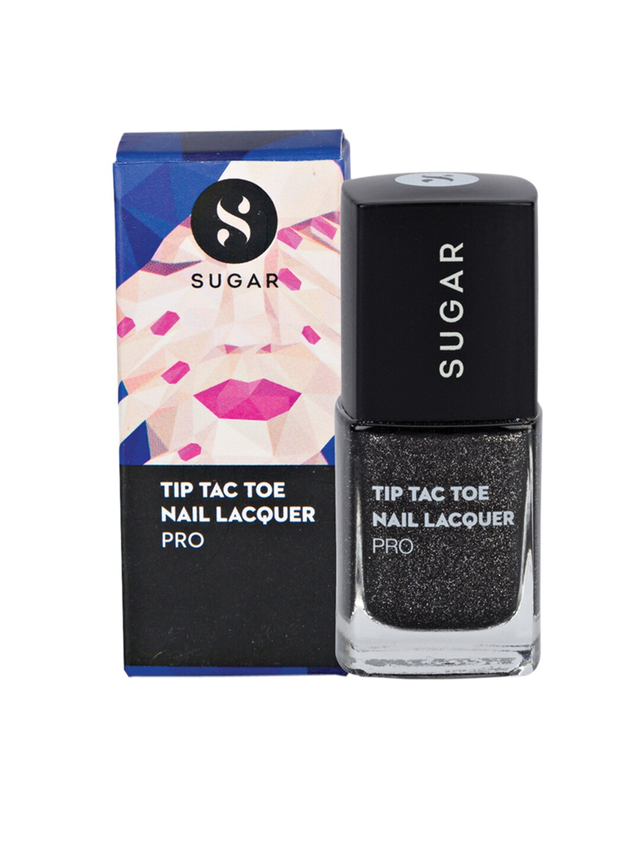 SUGAR Tip Tac Toe Pro Nail Lacquer - 018 Bounce Black image