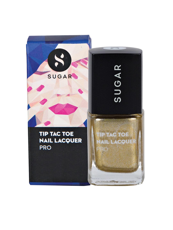 SUGAR Tip Tac Toe Pro Nail Lacquer - 021 Good As Gold image