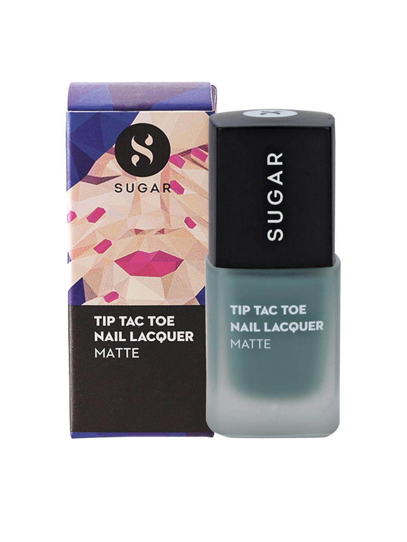 SUGAR Tip Tac Toe Matte Nail Lacquer - 028 Green Is Good image