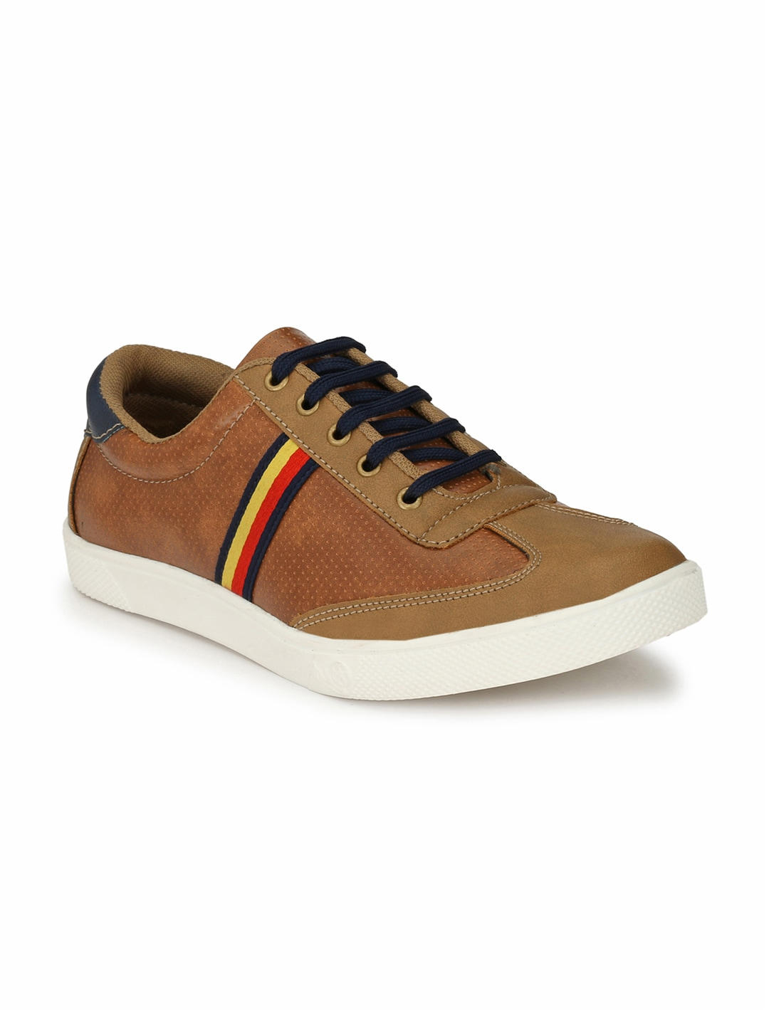 Prolific Men Tan Brown Sneakers image