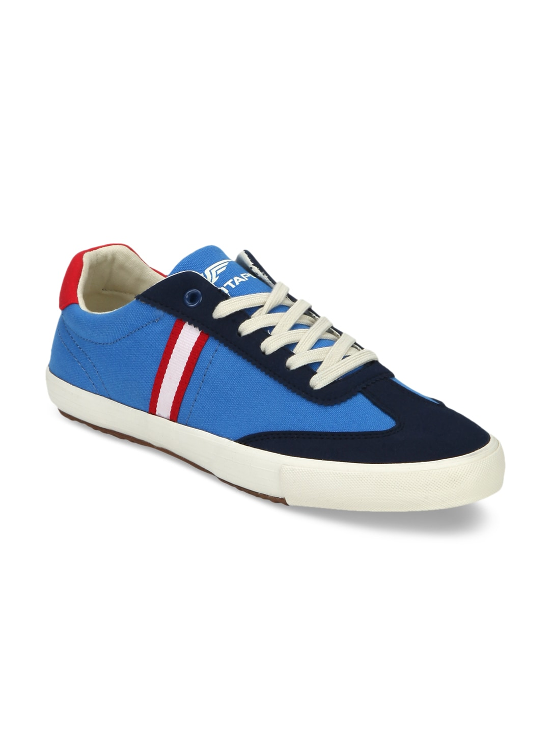Red Tape Men Blue Sneakers image