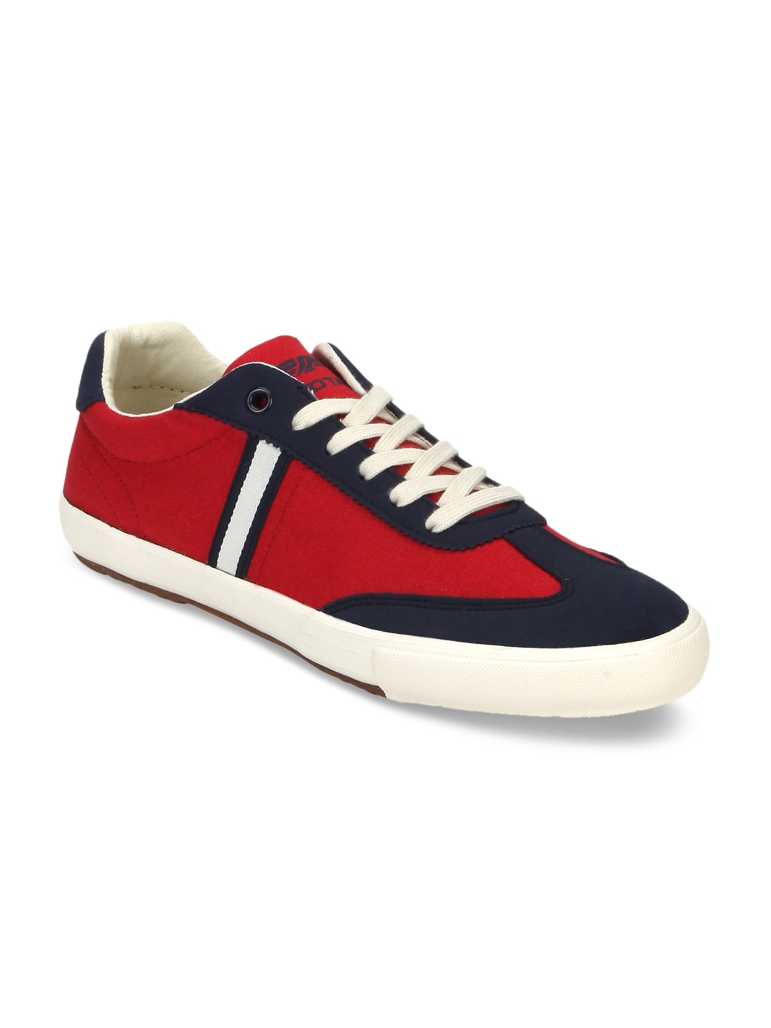 Red Tape Men Red & Navy Sneakers image