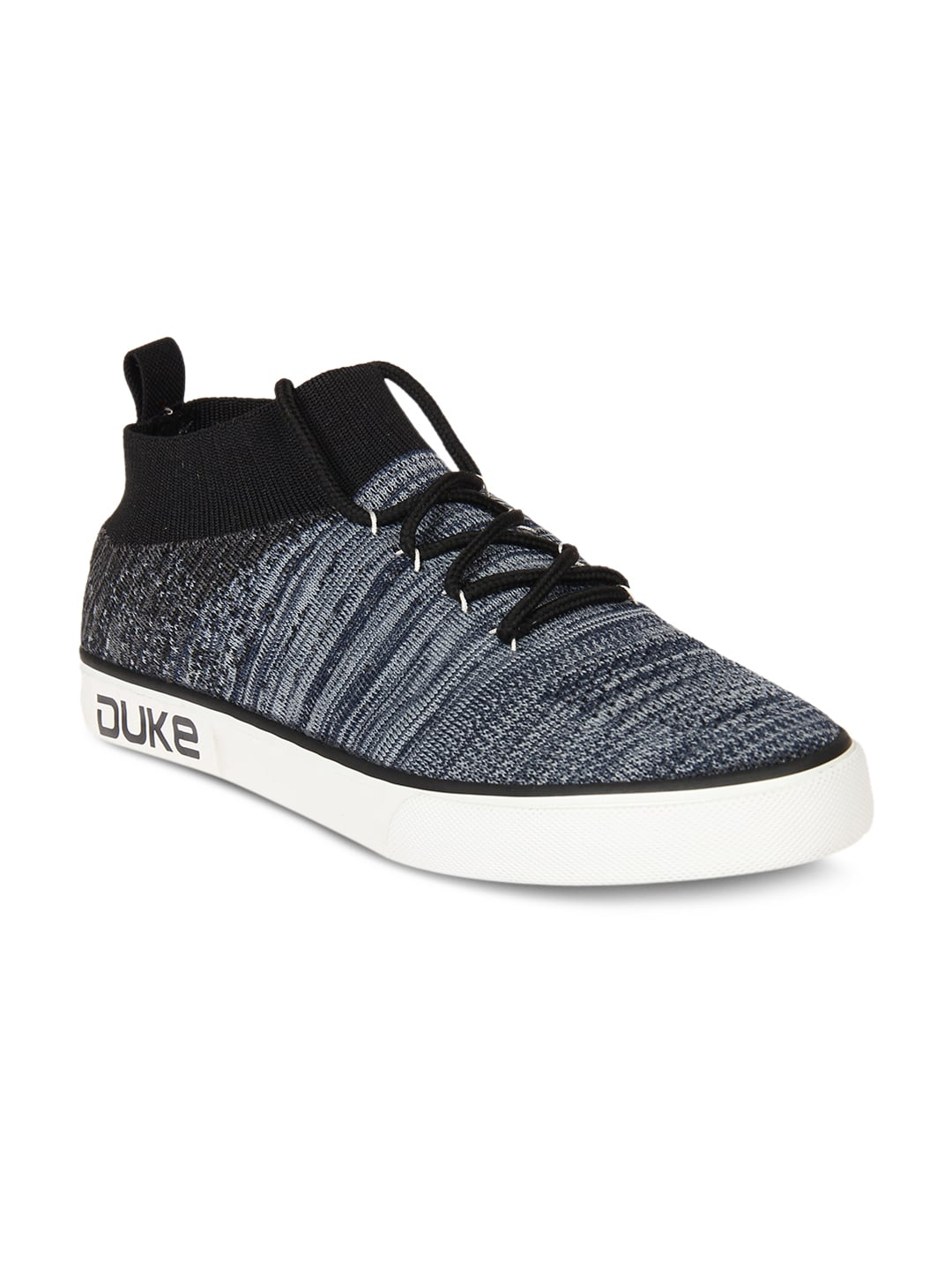 Duke Men Blue & Grey Sneakers image