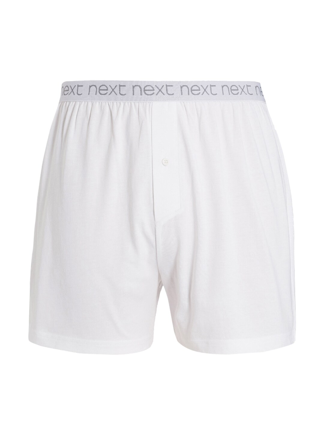 next Men Pack of 4 White Boxers image